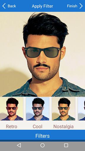 Men Mustache Beard Haircuts  screenshots 7