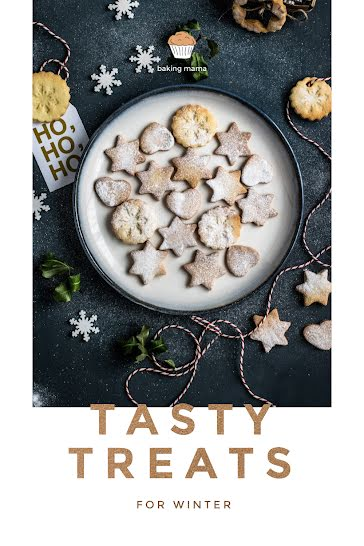 Tasty Treats for Winter - Pinterest Pin Template
