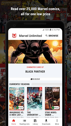 Marvel Unlimited screenshot 1