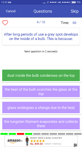 General Science Quiz 1.3 screenshots 2