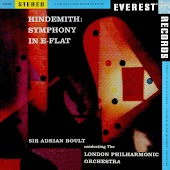 Hindemith: Symphony in E-flat (Transferred from the Original Everest Records Master Tapes)