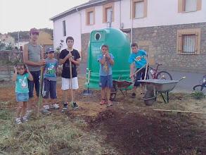Photo: Boletín 123 - Preparando el castro de la bolera infantil