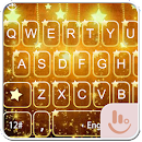 Gold Stars Keyboard Theme v 6.9.16