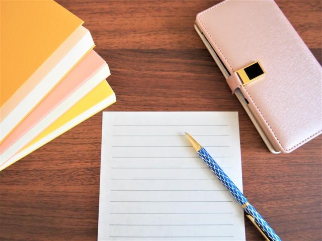手紙とSNS、五感との関係