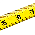 Prime Ruler - length measurement by camera, screen Icon