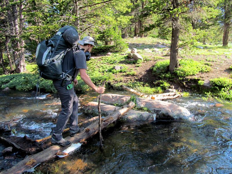 Photo: Stream crossing