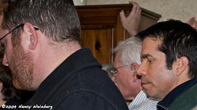 Photo: Jesse Reich, Carl Offner, State Rep. Geraldo Alicea