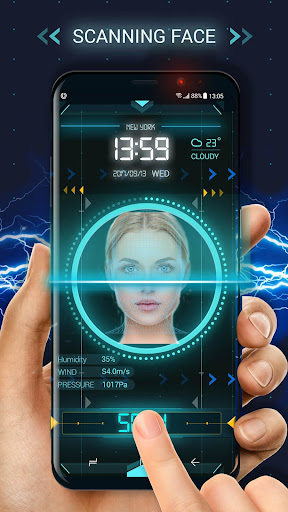 Face detection style lock screen for prank 9.3.0.1938_dev_face_locker_synchronous_master gameplay | AndroidFC 2
