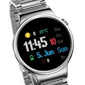 LED Digital Watch Face