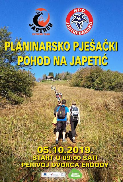 Planinarski uspon na Japetić iz Jaske, 5.10.2019.