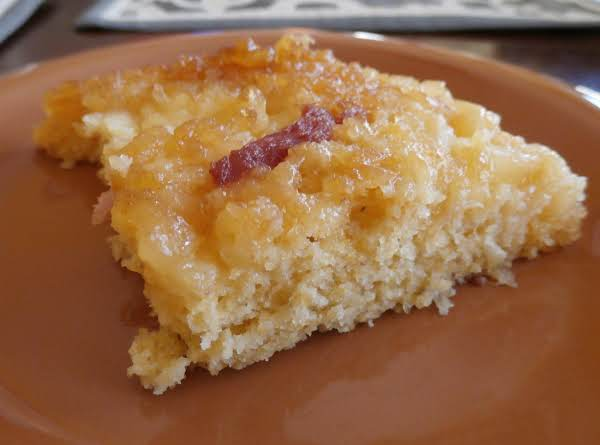 Upside Down Cornbread Coffee Cake Recipe