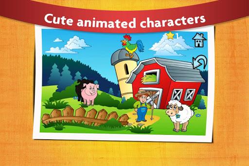 Kids Peg Puzzle Game screenshot 1