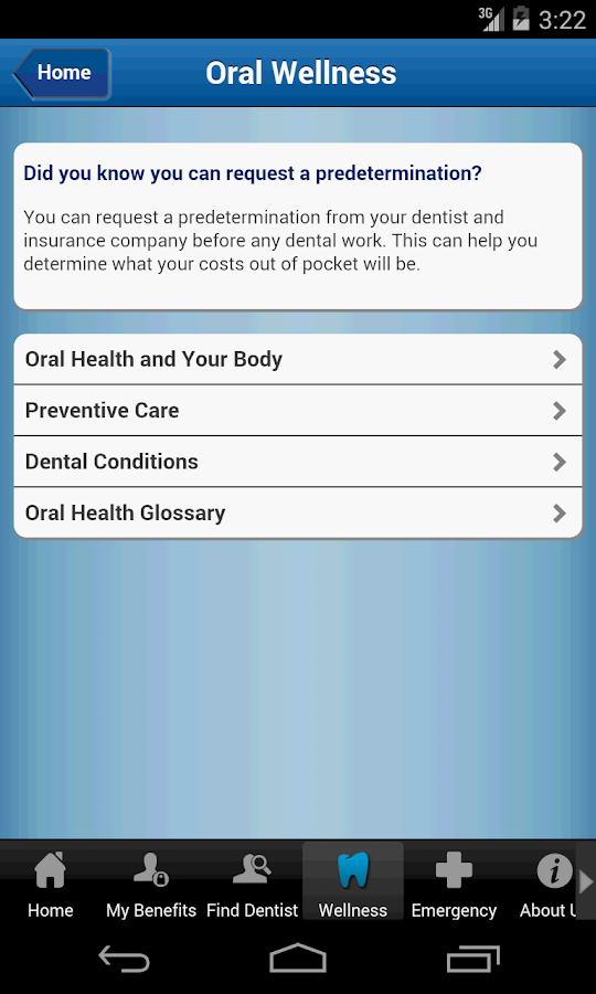 United Concordia Dental Mobile- screenshot