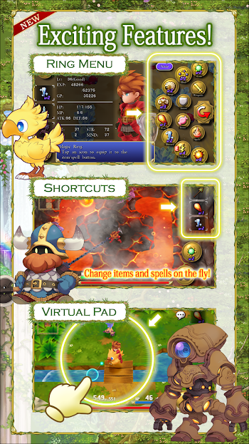 Adventures of Mana- screenshot