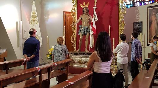 La vuelta a la vida: el Resucitado, la primera hermandad que celebra sus cultos