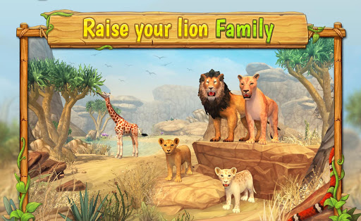 Lion Family Sim Online - Animal Simulator 4.0 screenshots 15