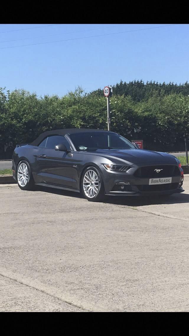 Ford Mustang Hire Crediton