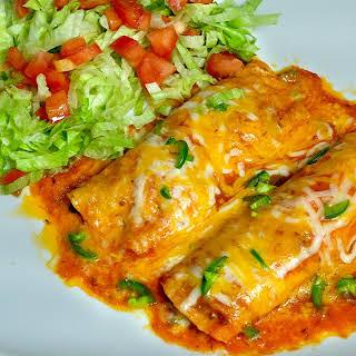 Vegetarian Enchiladas With White Sauce Recipes.