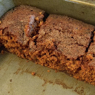 Gluten Free Double Ginger Cake.