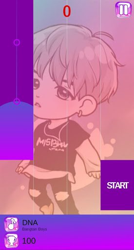 BTS Chibi Piano Tiles 2.2 screenshots 4