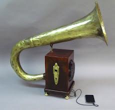 Photo: Steampunk Tuba Speaker