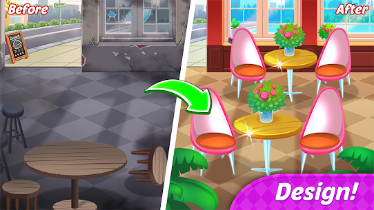 Food Diary: Cooking City MOD (Unlimited Money) 4