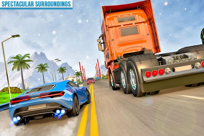 ?️ Traffic Car Highway Rush Racing Android 14