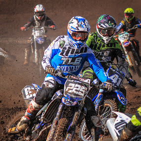 Motocross by Dirk Luus - Sports & Fitness Motorsports ( mud, motorbike, motocross, motorcycle, dirt, motorsport,  )