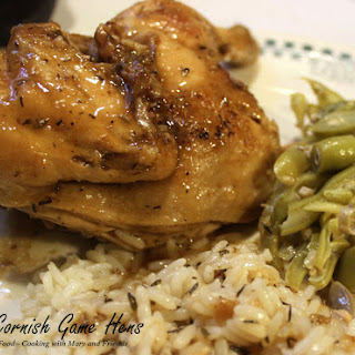 Fried Cornish Game Hens Recipes.