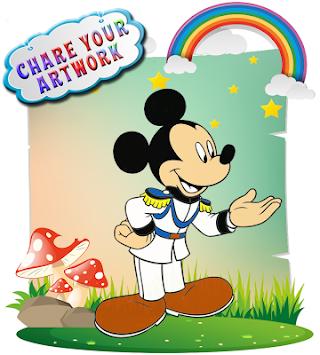 Cara Mewarnai Mickey Mouse Kids Mewarnai Game 2017 Versi Terbaru