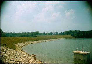 Photo: Dam July 31st, 1957