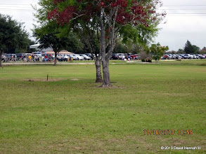 Photo: Parking lot full to past the end.    2013-1116 DH3
