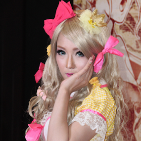 Lala #3 by Timmothy Tjandra - People Portraits of Women ( cosplay, woman, costume, women,  )
