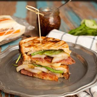 Pear, Prosciutto, Arugula, and White Cheddar Grilled Cheese Sandwich