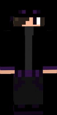 uma skin de enderman