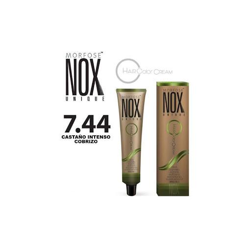 tinte morfose tubo nox crema rubio oscuro naranja 7.44 60ml