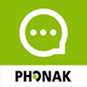Phonak myCall-to-Text phone transcription icon
