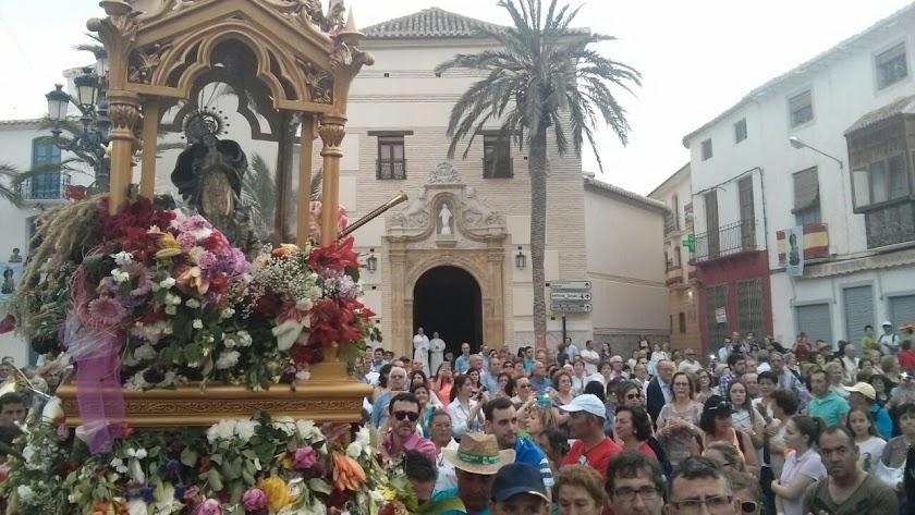 La Romería de la Virgen del Saliente es una gran manifestación de fervor en Albox