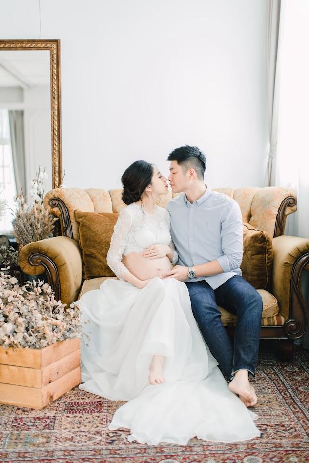 女攝影師主郁|Jane 孕婦寫真|親子寫真 - Pregnant Photo - 美式婚禮婚紗|