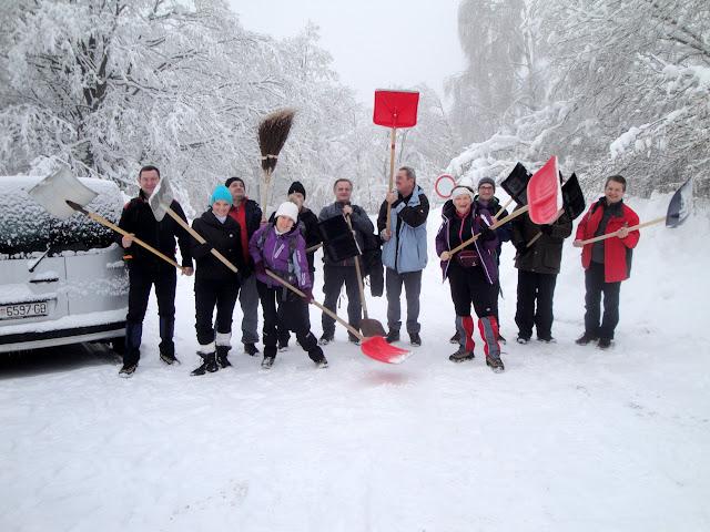 Čišćenje snijega na Japetiću
