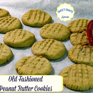 Old Fashioned Peanut Butter Cookies.