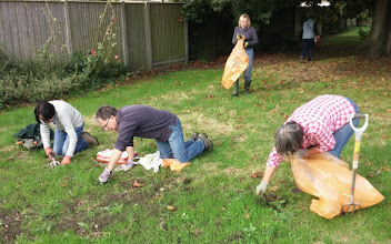 Photo: Recreation Ground working party Oct 2014