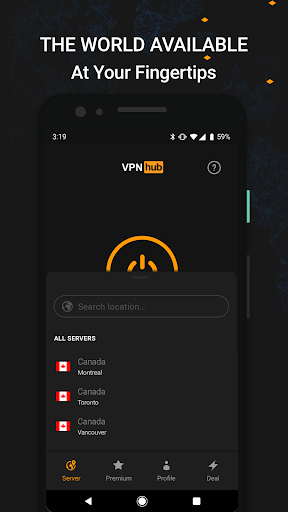 VPNhub Best Free Unlimited VPN - Secure WiFi Proxy 2.15.10-mobile Screenshots 3