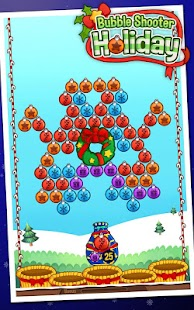 Bubble Shooter Holiday- screenshot thumbnail