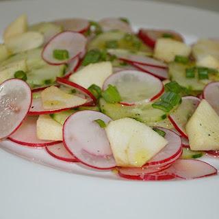 German Cucumber Apple Salad
