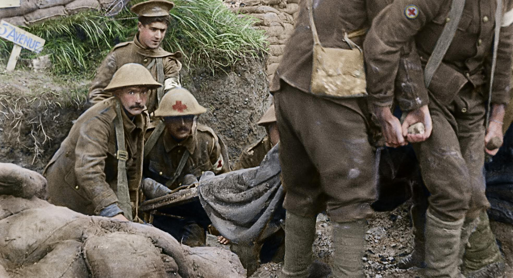 They Shall Not Grow Old Official Site