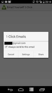 Email Yourself- screenshot thumbnail