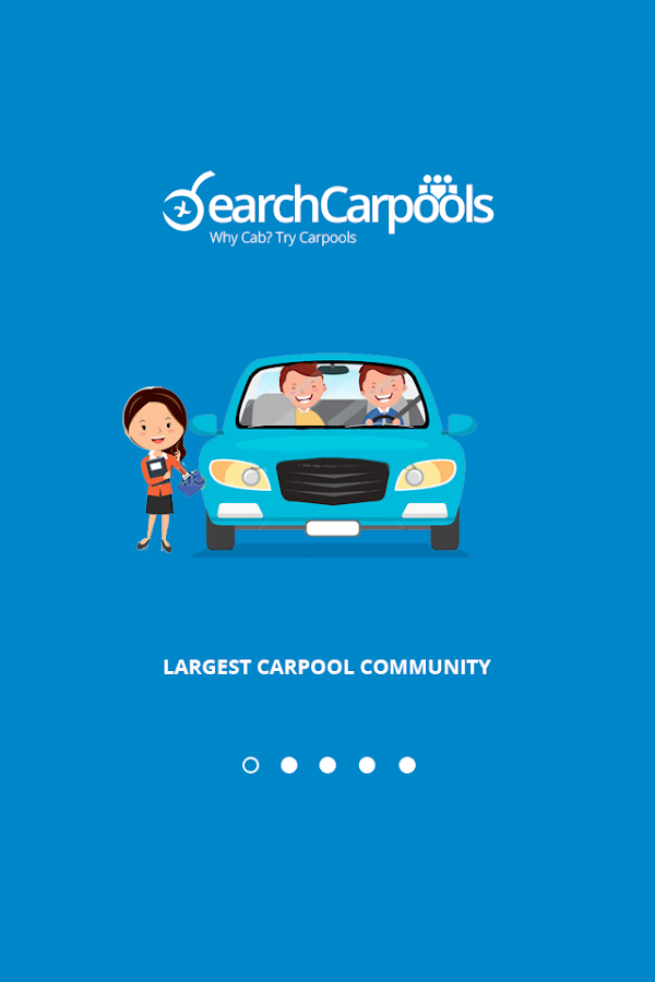 SearchCarpools- screenshot