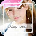 Photo Captions - Insta Square icon