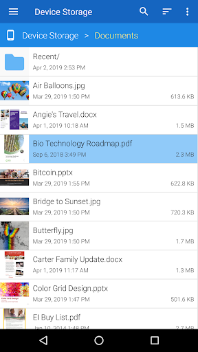 File Viewer for Android 3.0.1 screenshots 2